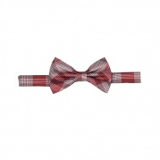 Галстук бабочка Pow Check Bow Tie Red&White