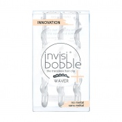 Заколка invisibobble WAVER PLUS Crystal Clear (с подвесом)