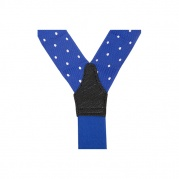 Подтяжки для брюк Polka Dot Braces Blue&White