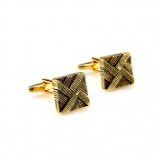 "Cufflinks ""Gold Babylon"""