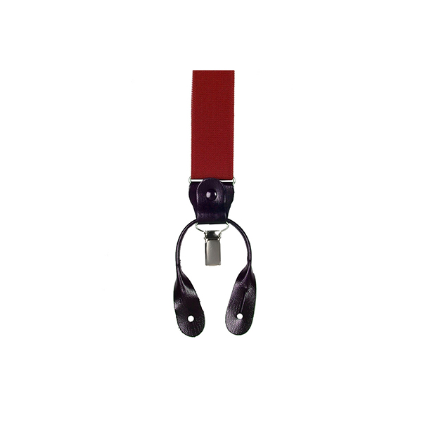Подтяжки для брюк Plian Braces Red