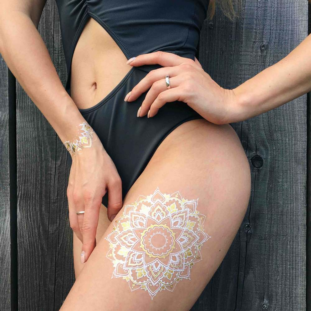 "Флэш тату Miami Tattoos ""Pure and Sparkle"""