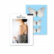 "Переводные тату Miami Tattoos ""White Butterfly"""