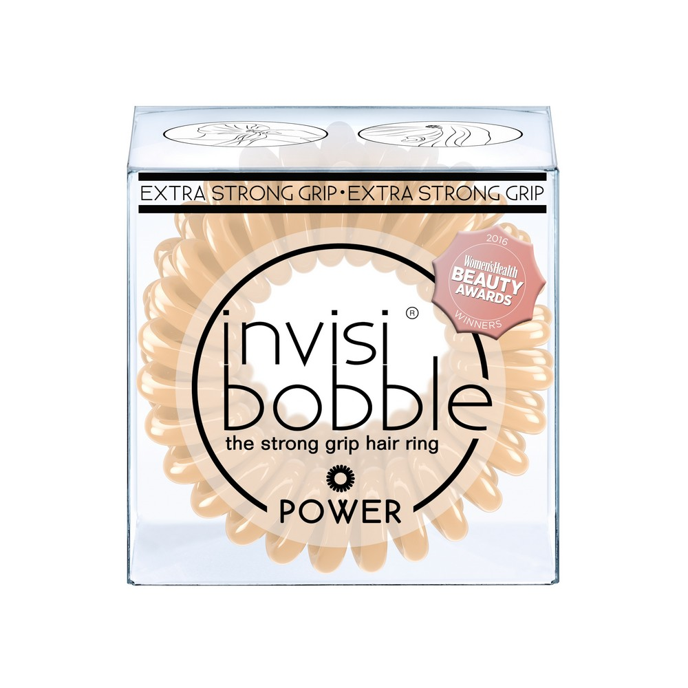 Резинка-браслет для волос invisibobble POWER To Be Or Nude To Be