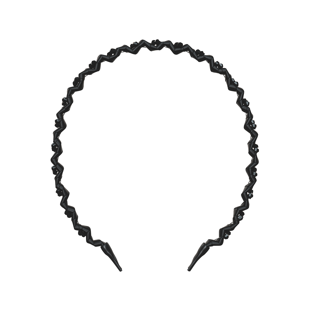 Ободок invisibobble HAIRHALO True Dark Sparkle
