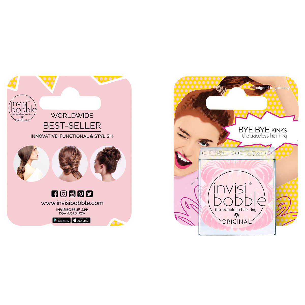 c81fd670a1a9 Резинка-браслет для волос invisibobble ORIGINAL Blush Hour (с ...