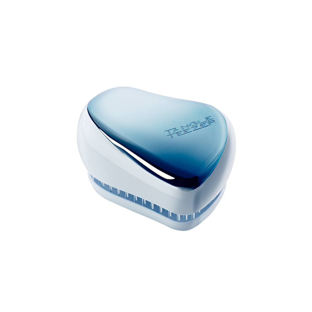 Расческа Tangle Teezer Compact Styler Sky Blue Delight Chrome