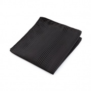 Носовой платок Gradiated Stripe Plain Pochette Black