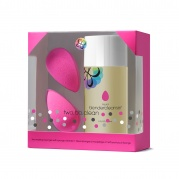 2 спонжа beautyblender original и очищающий гель blendercleanser 150 мл