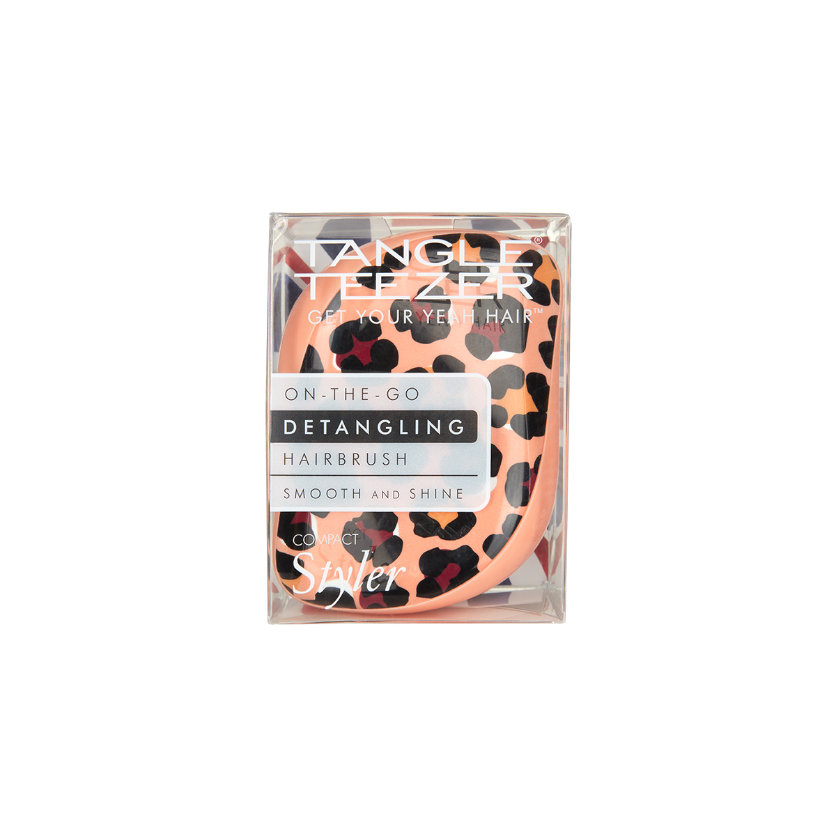 Расческа Tangle Teezer Compact Styler Apricot Leopard