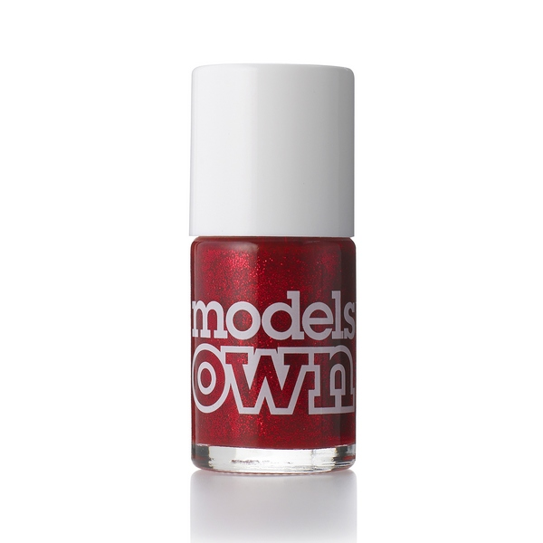 Лак для ногтей Models Own Scarlet Sparkle