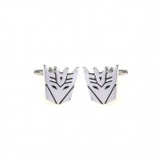 "Original Cufflinks  ""Transformers-Decepticon"" -silver"