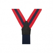 Подтяжки для брюк Stripe Braces Red&Navy